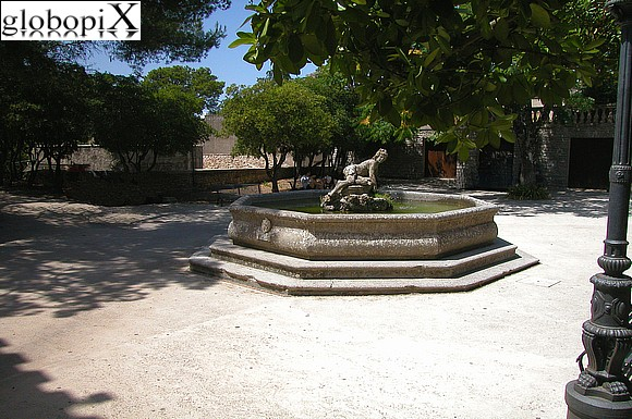 giardino del balio fontana di venere