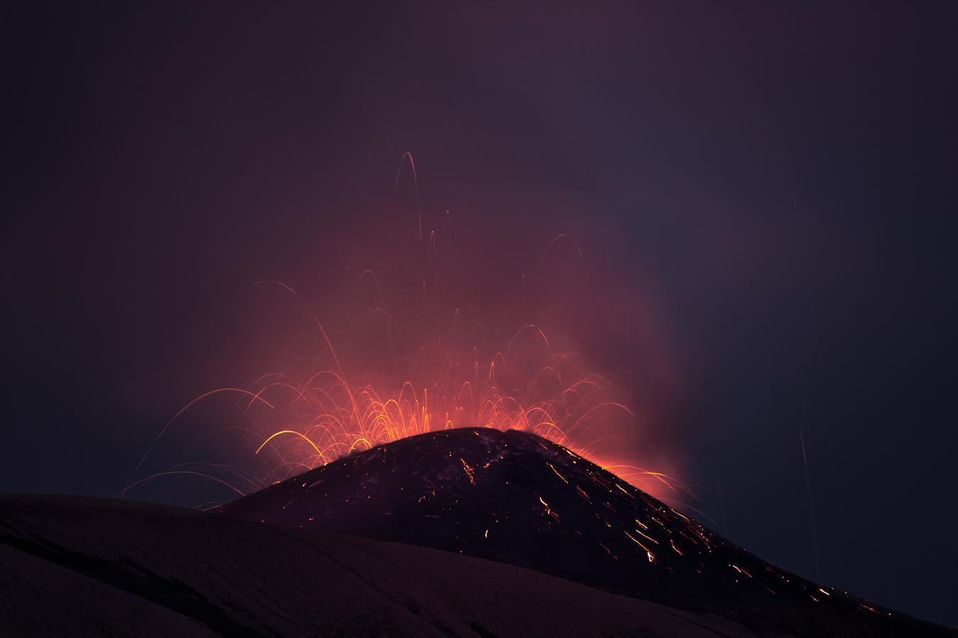 Eruzione vulcano Etna Gianluca Musmeci