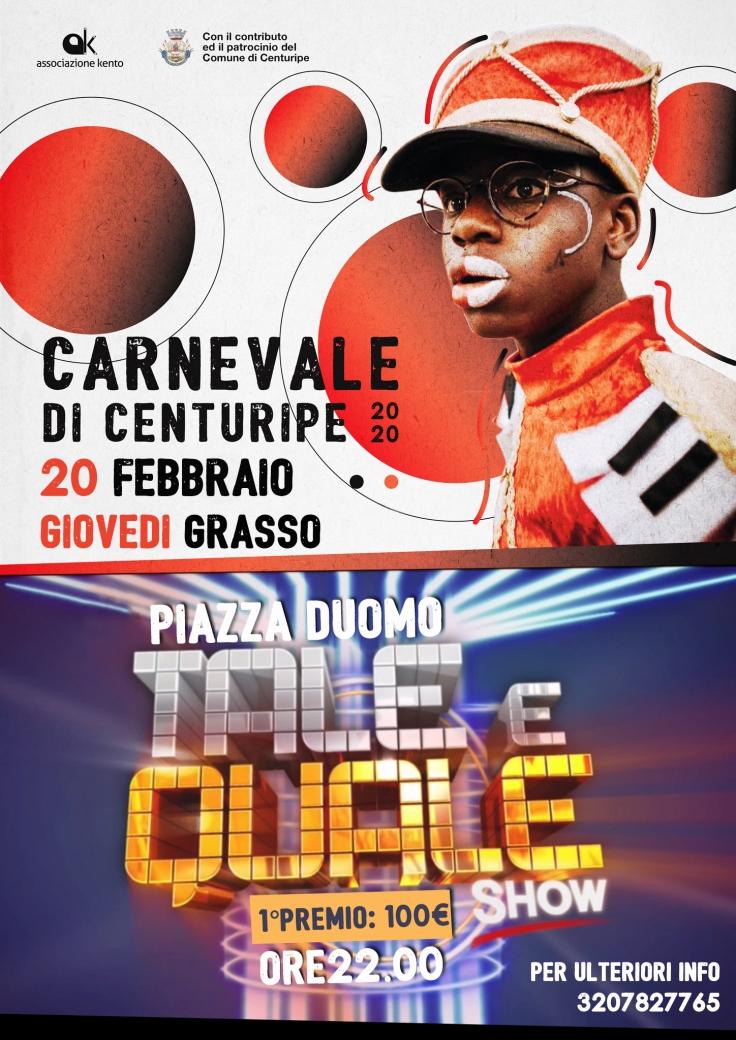 Carnevale-Poster-Base TALE E QUALE