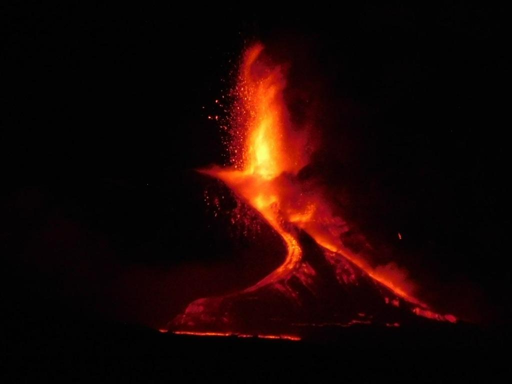 Eruzione Etna giugno 2021